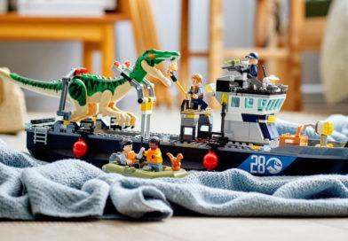 Exclusive: save 20% on LEGO Jurassic World 76942 Baryonyx Dinosaur Boat Escape