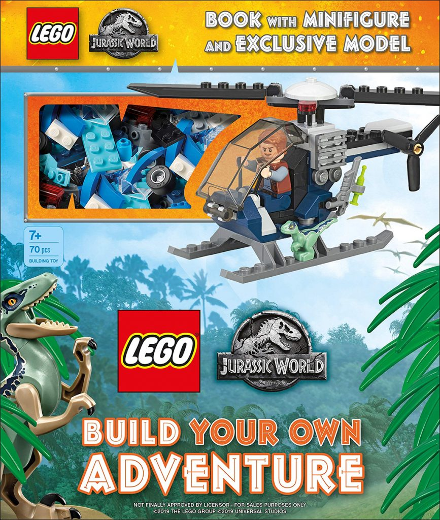 LEGO Jurassic World Build Your Own Book