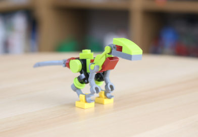 Custom LEGO Jurassic World robo-raptor build
