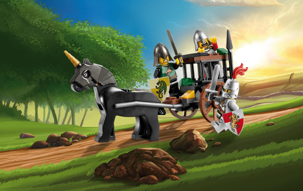 LEGO Kingdoms 7949 Prison Carriage Rescue