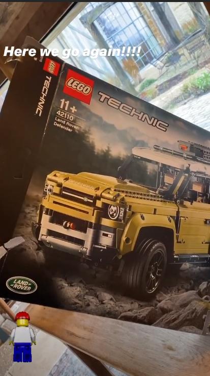 LEGO Land Rover David Beckham 1