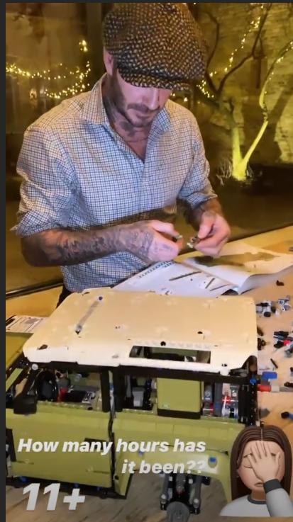 LEGO Land Rover David Beckham 4