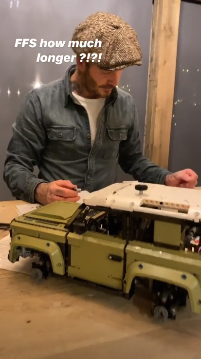 LEGO Land Rover David Beckham 5