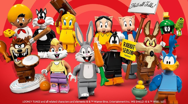 LEGO Looney Tunes Officially Revealed