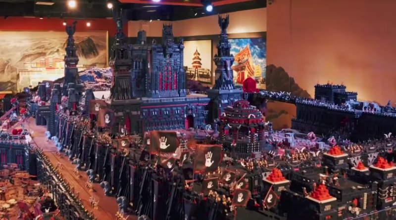 LEGO Lord Of The Rings Guinness World Record Holder Featured