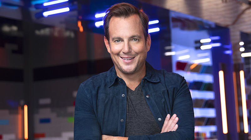 Will Arnett LEGO MASTERS USA host