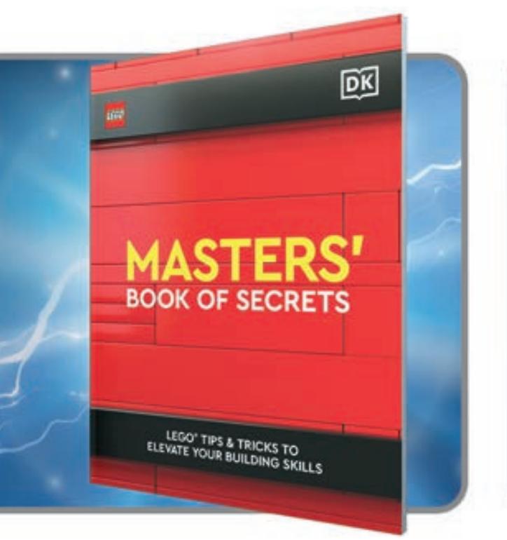 LEGO MASTERS book of secrets