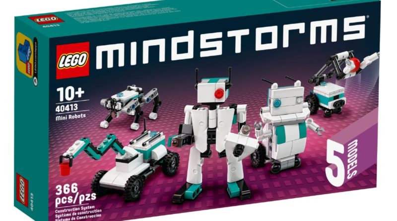 LEGO MINDSTORMS 40413 Mini Robots box art featured