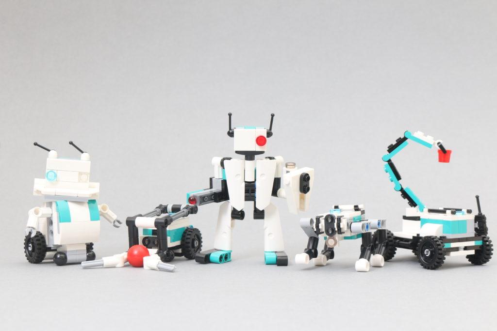 LEGO MINDSTORMS 40413 Mini Robots Review 1
