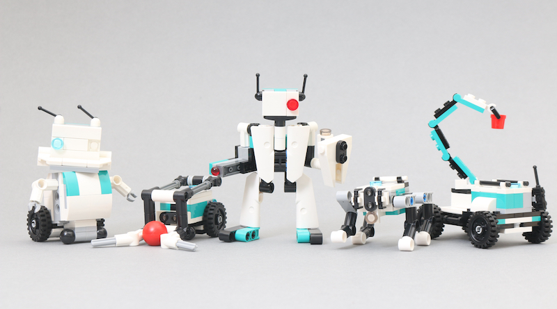 LEGO MINDSTORMS 40413 Mini Robots Review Title
