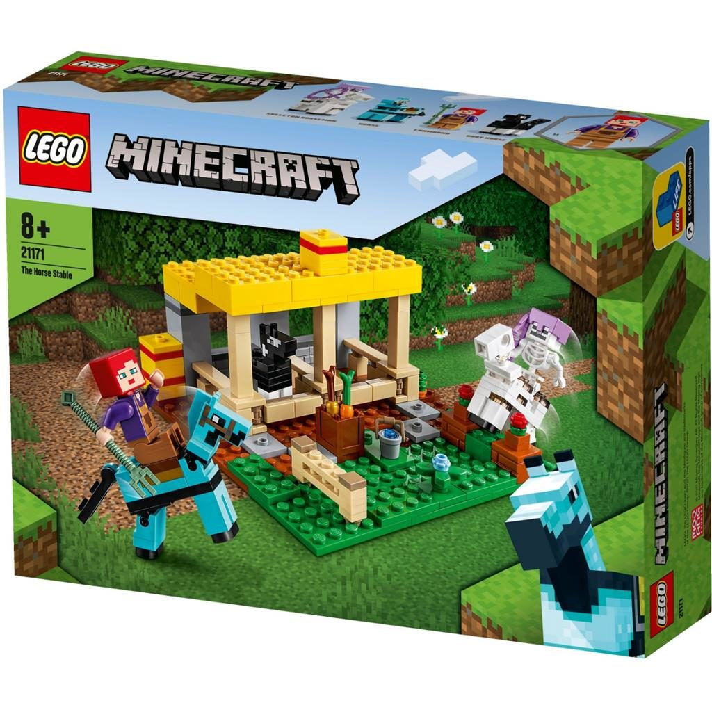 LEGO MINECRAFT 21171 THE HORSE STABLE 1