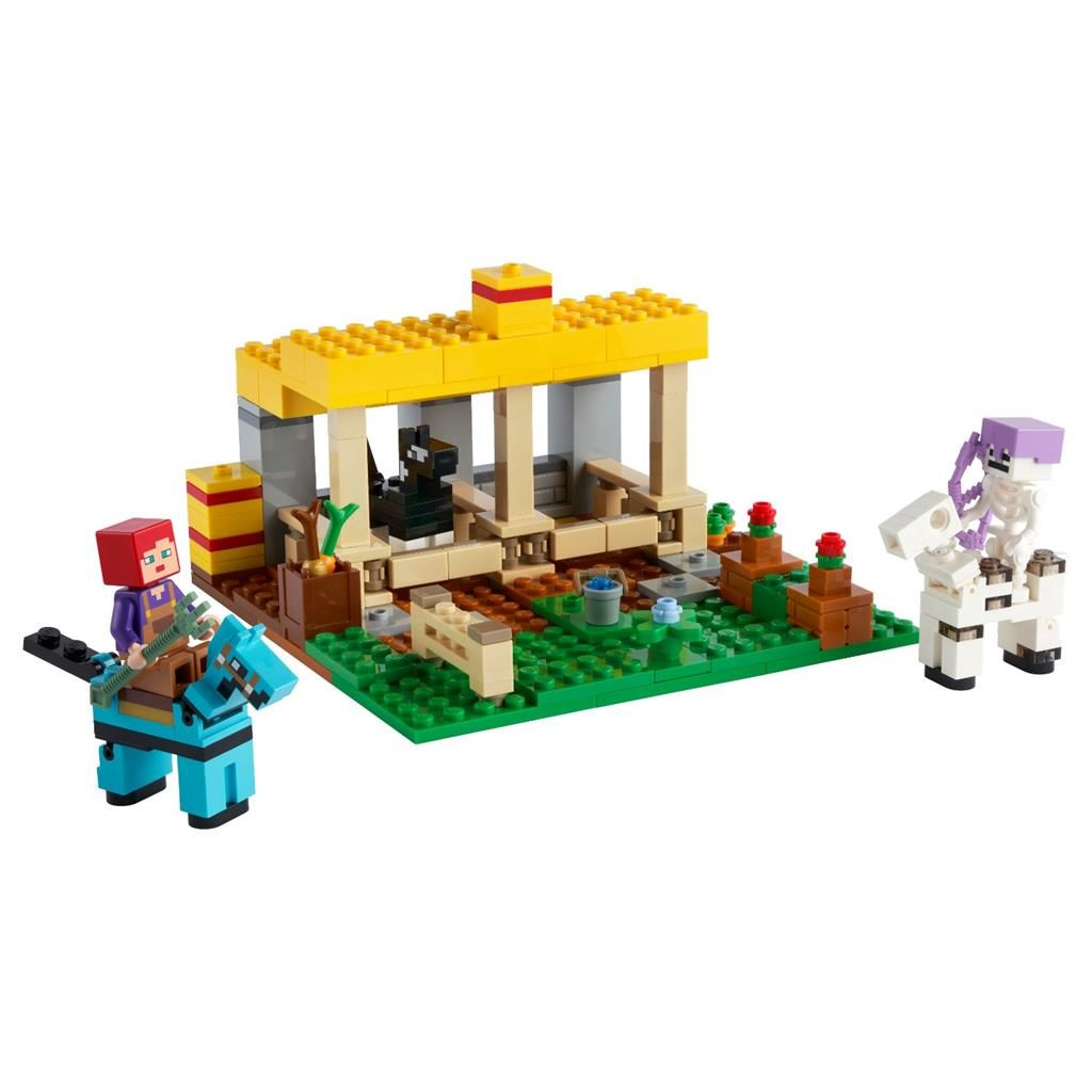 LEGO MINECRAFT 21171 THE HORSE STABLE 2