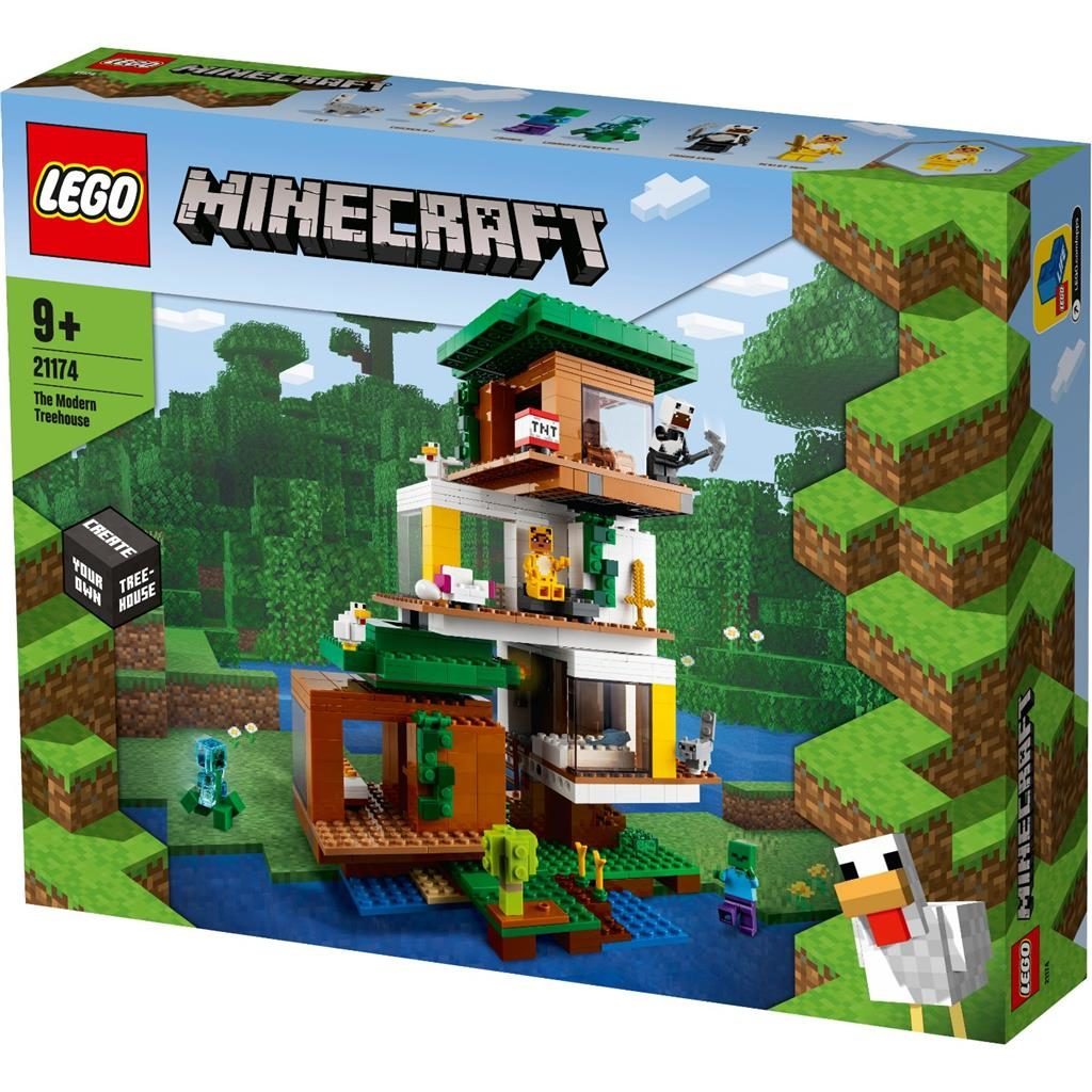 LEGO MINECRAFT 21174 THE MODERN TREEHOUSE 1