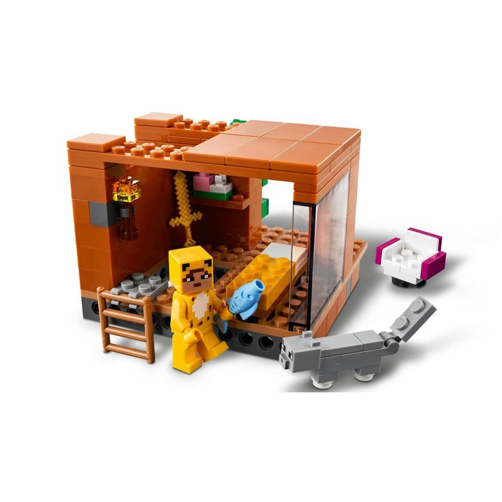 LEGO MINECRAFT 21174 THE MODERN TREEHOUSE 3