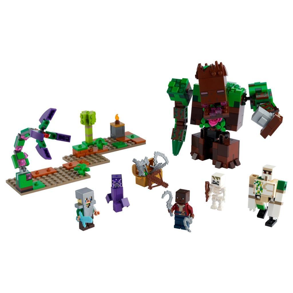 LEGO MINECRAFT 21176 THE JUNGLE ABOMINATION 2