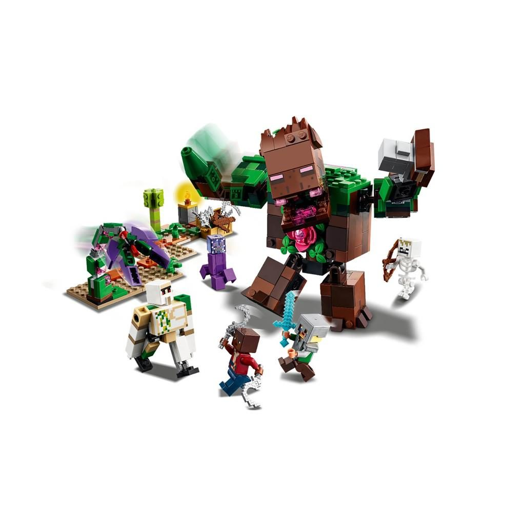 LEGO MINECRAFT 21176 THE JUNGLE ABOMINATION 3