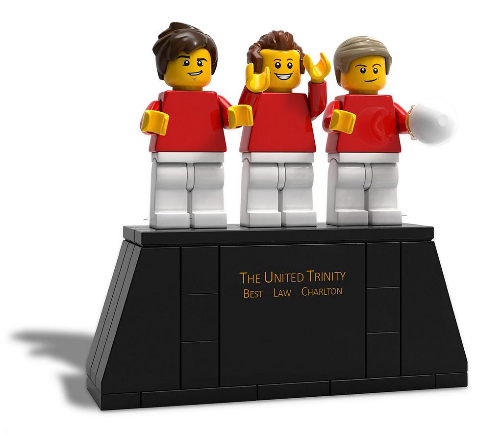 LEGO Manchester United 6322264 The United Trinity