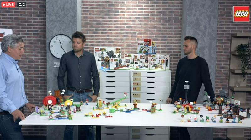 LEGO Mario Livestream Featured