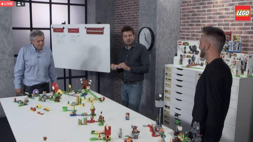 LEGO Mario Livestream