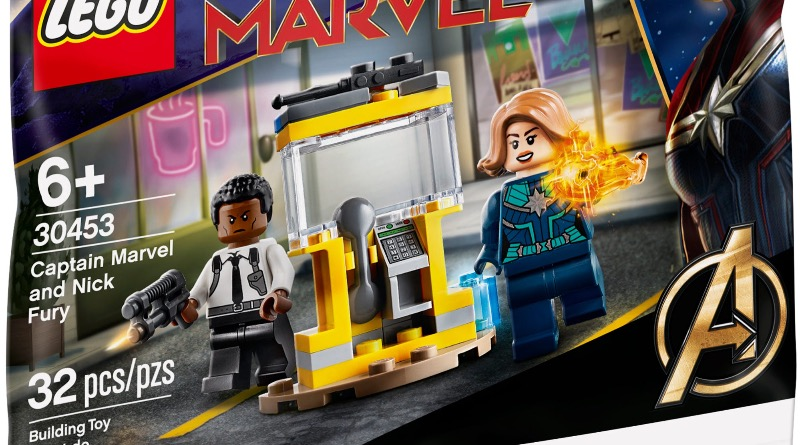 LEGO Marvel 30453 Captain Marvel And Nick Fury Featured