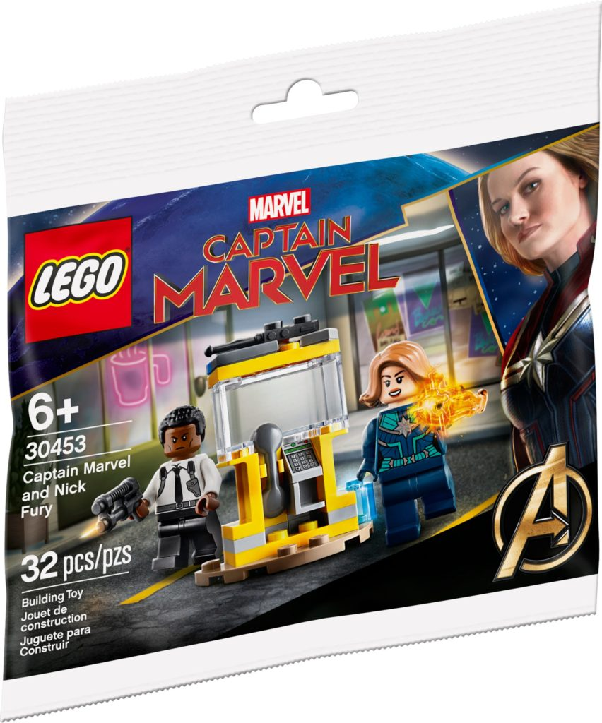 LEGO Marvel 30453 Captain Marvel And Nick Fury