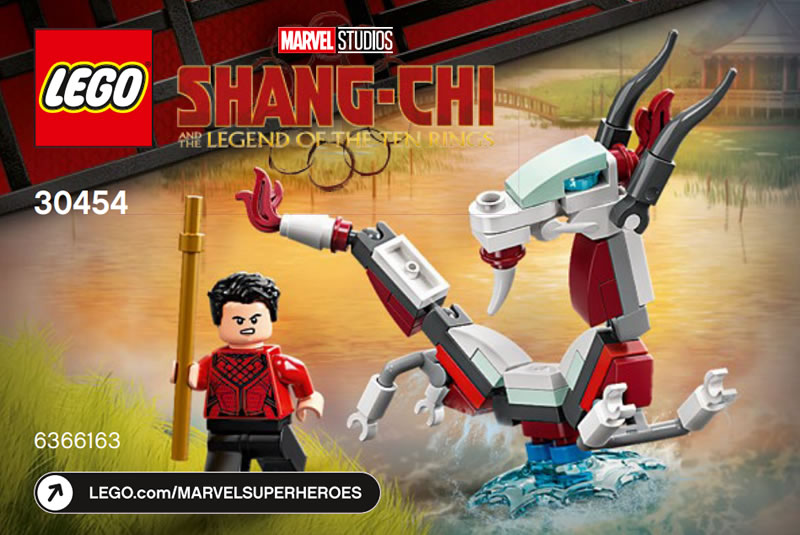 LEGO Marvel 30454 Shang Chi And The Great Protector 1