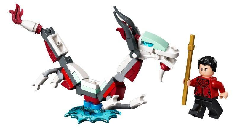 Lego Marvel 30454 Shang Chi နှင့် Great Protect 1 တွင်ပါ ၀ င်သည်