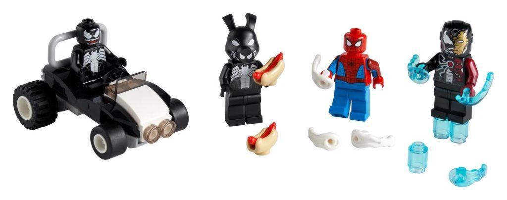 LEGO Marvel 40454 Spider Man versus Venom and Iron Venom
