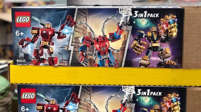 LEGO Marvel 66635 Super Mech Pack Featured