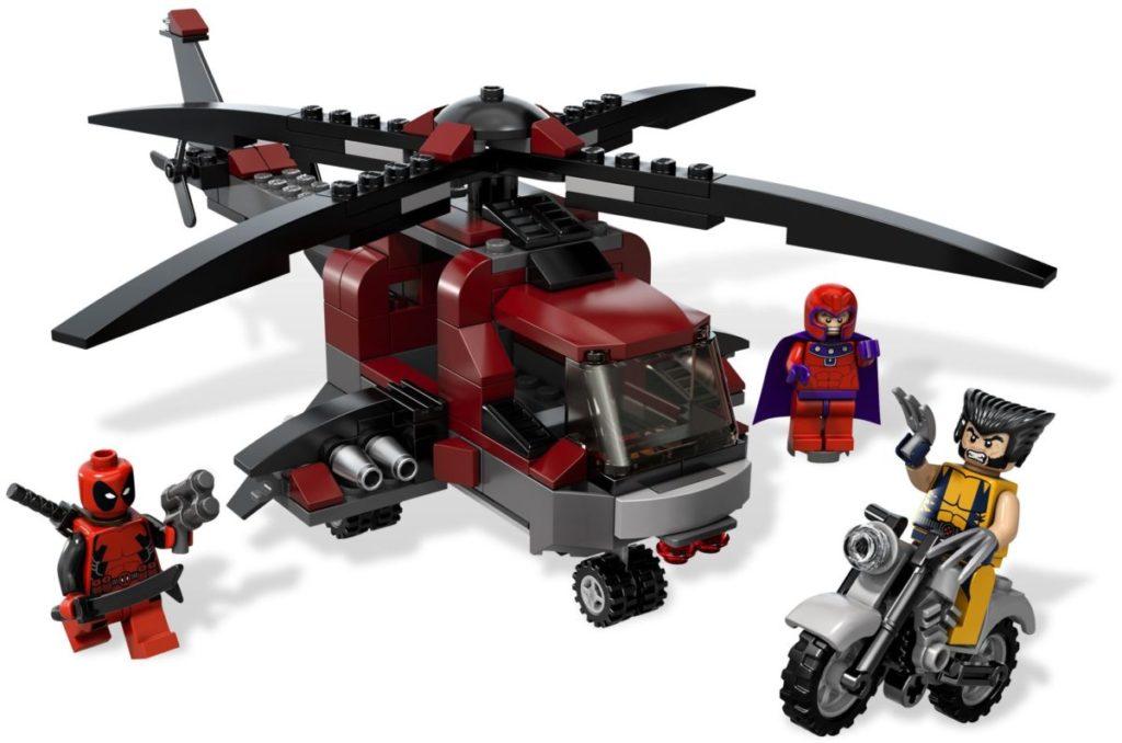 LEGO Marvel 6866 Wolverines Chopper Showdown box art back render