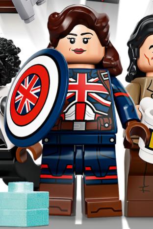 LEGO Marvel 71031 Marvel Studios Captain Carter