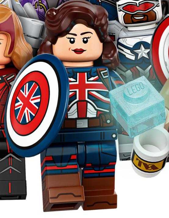 LEGO Marvel 71031 Marvel Studios Captain Carter 1