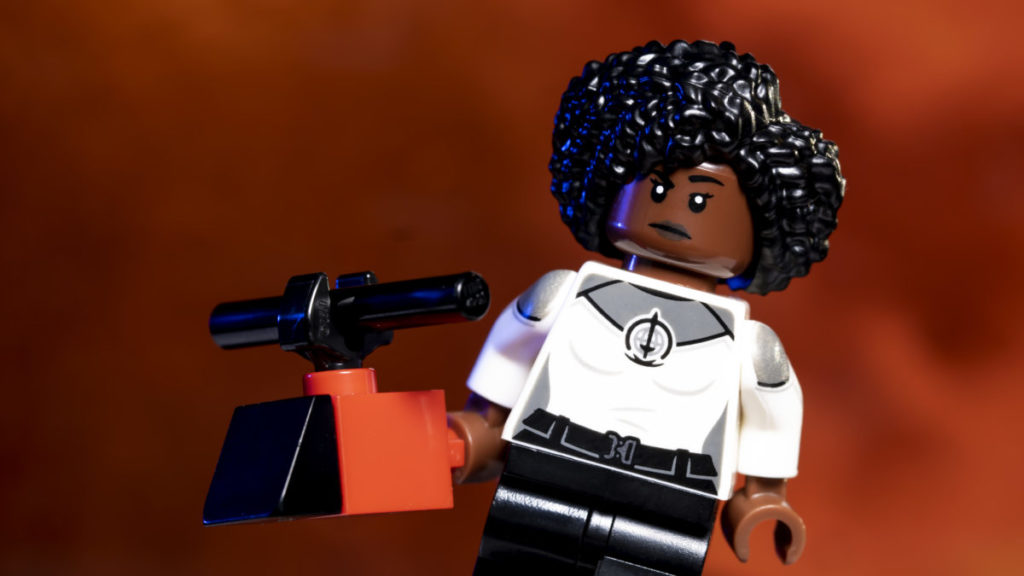 LEGO Marvel 71031 Marvel Studios Monica Rambeau action shot