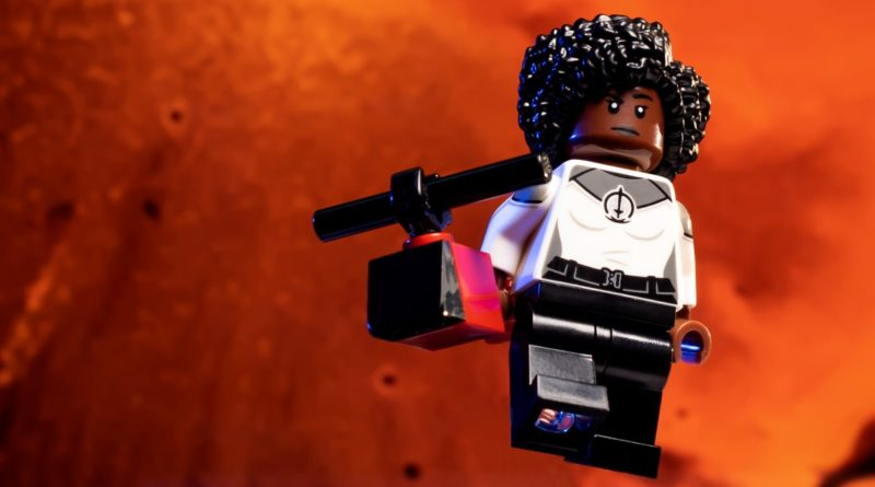 LEGO Marvel 71031 Marvel Studios Monica Rambeau action shot featured