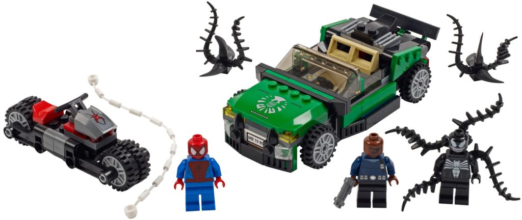 LEGO Marvel 76004 Spider Man Spider Cycle Chase