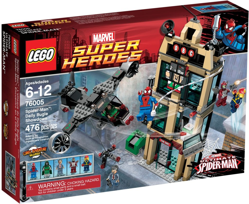 LEGO Marvel 76005 Spider Man Daily Bugle Showdown