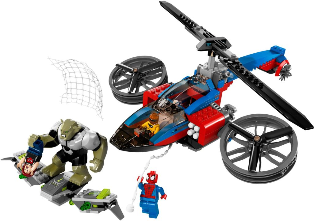 LEGO Marvel 76016 Spider Helicopter Rescue