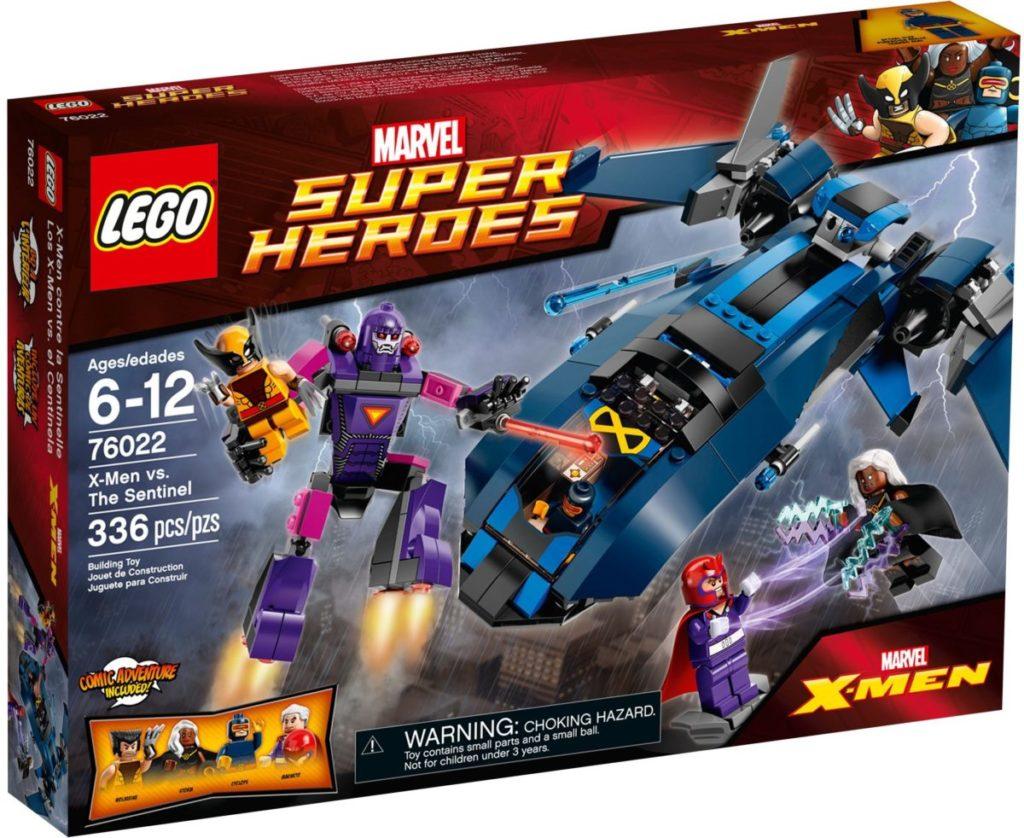 LEGO Marvel 76022 X Men vs. the Sentinel 1