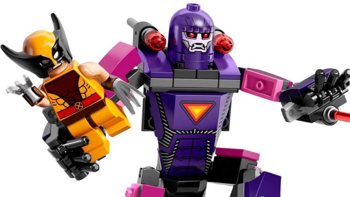 LEGO Marvel 76022 X Men Vs. The Sentinel Wolverine Featured