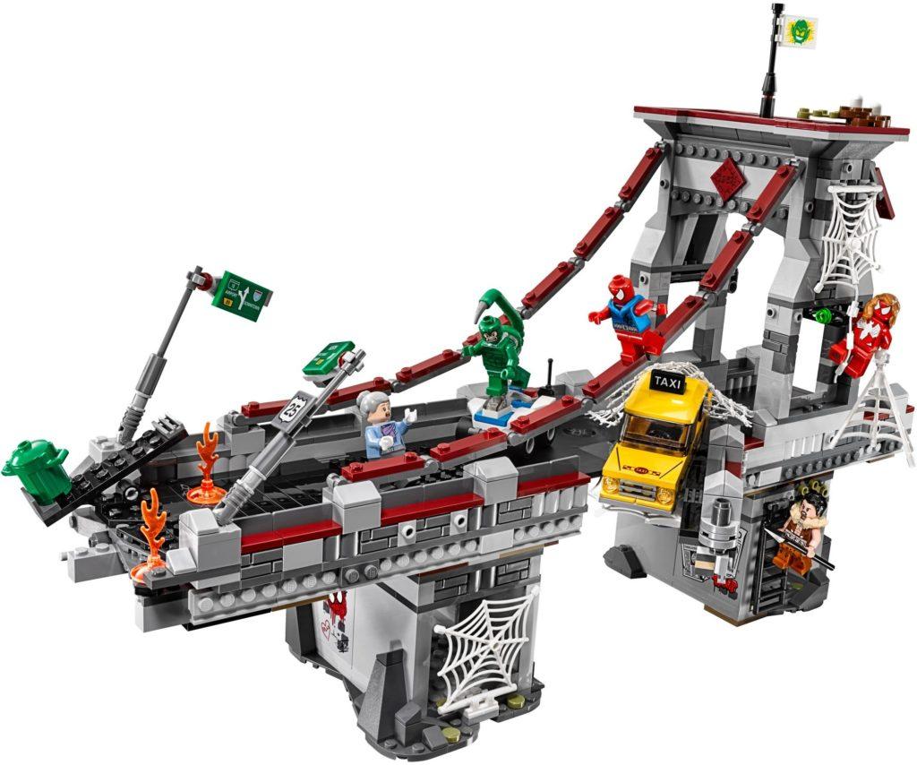 LEGO Marvel 76057 Spider Man Web Warriors Ultimate Bridge Battle
