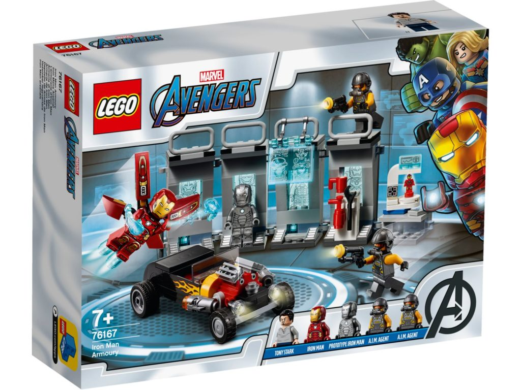 LEGO Marvel 76125 Hall Of Armor 1