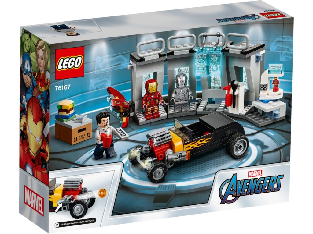 LEGO Marvel 76125 Hall Of Armor 2