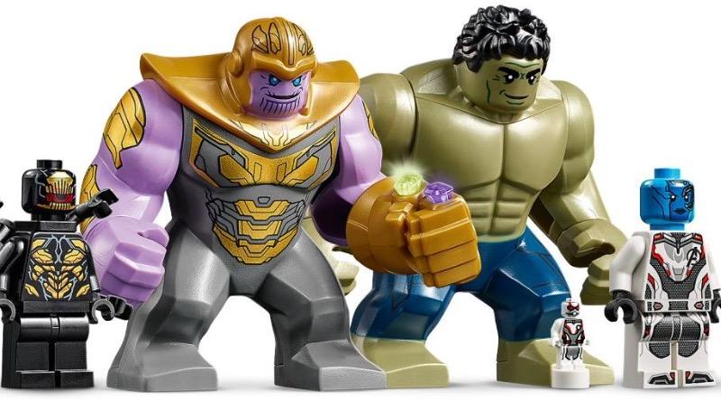 LEGO Marvel 76131 Avengers Compound Battle Minifigures Featured
