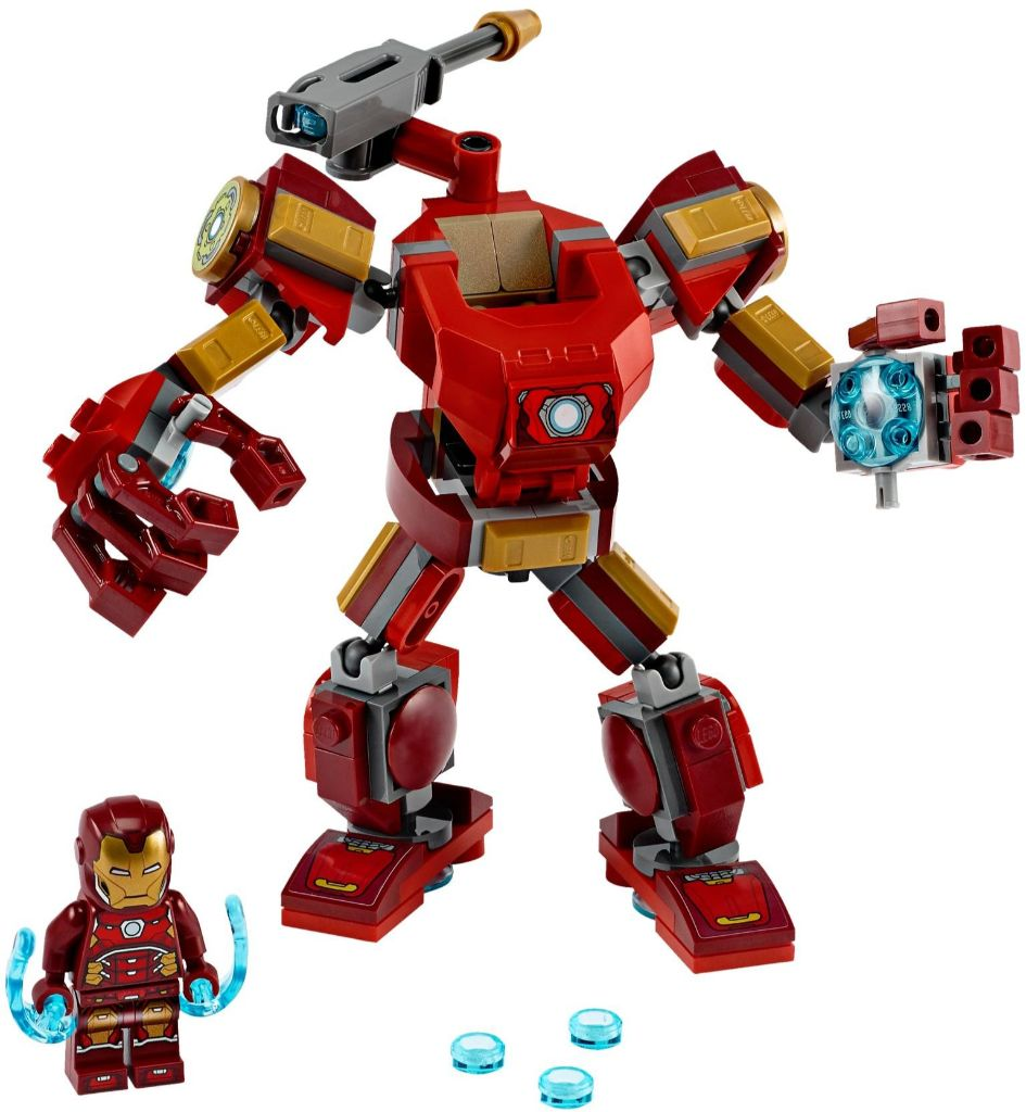 LEGO Marvel 76140 Iron Man Mech 1