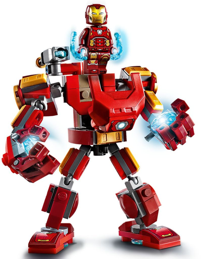 LEGO Marvel 76140 Iron Man Mech 4