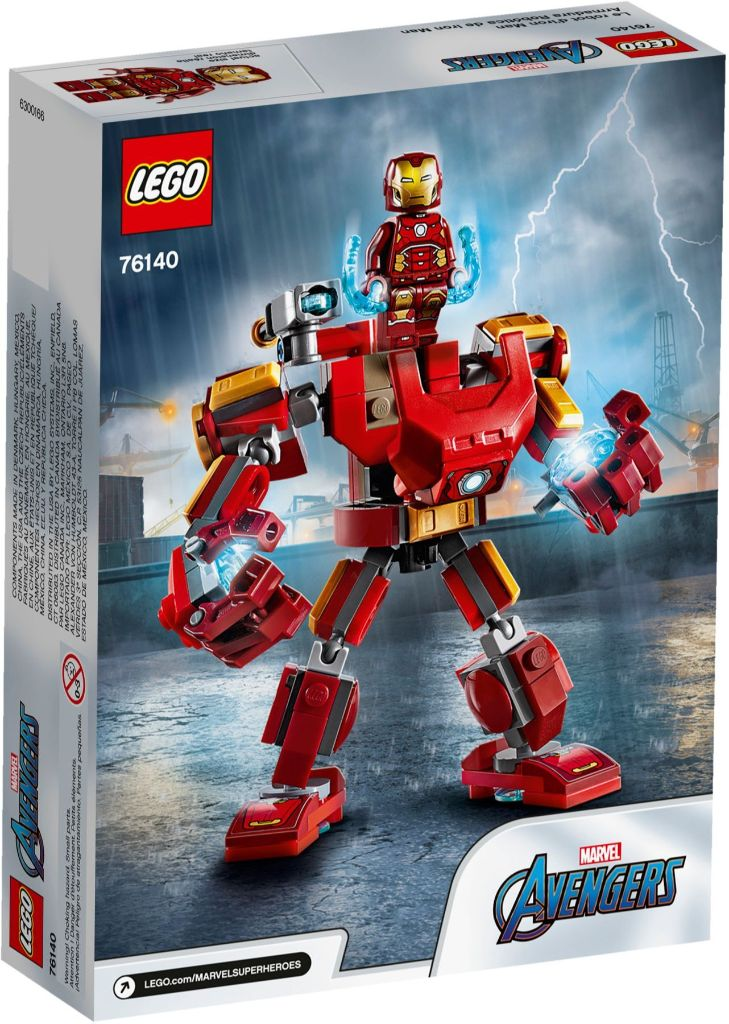LEGO Marvel 76140 Iron Man Mech 5