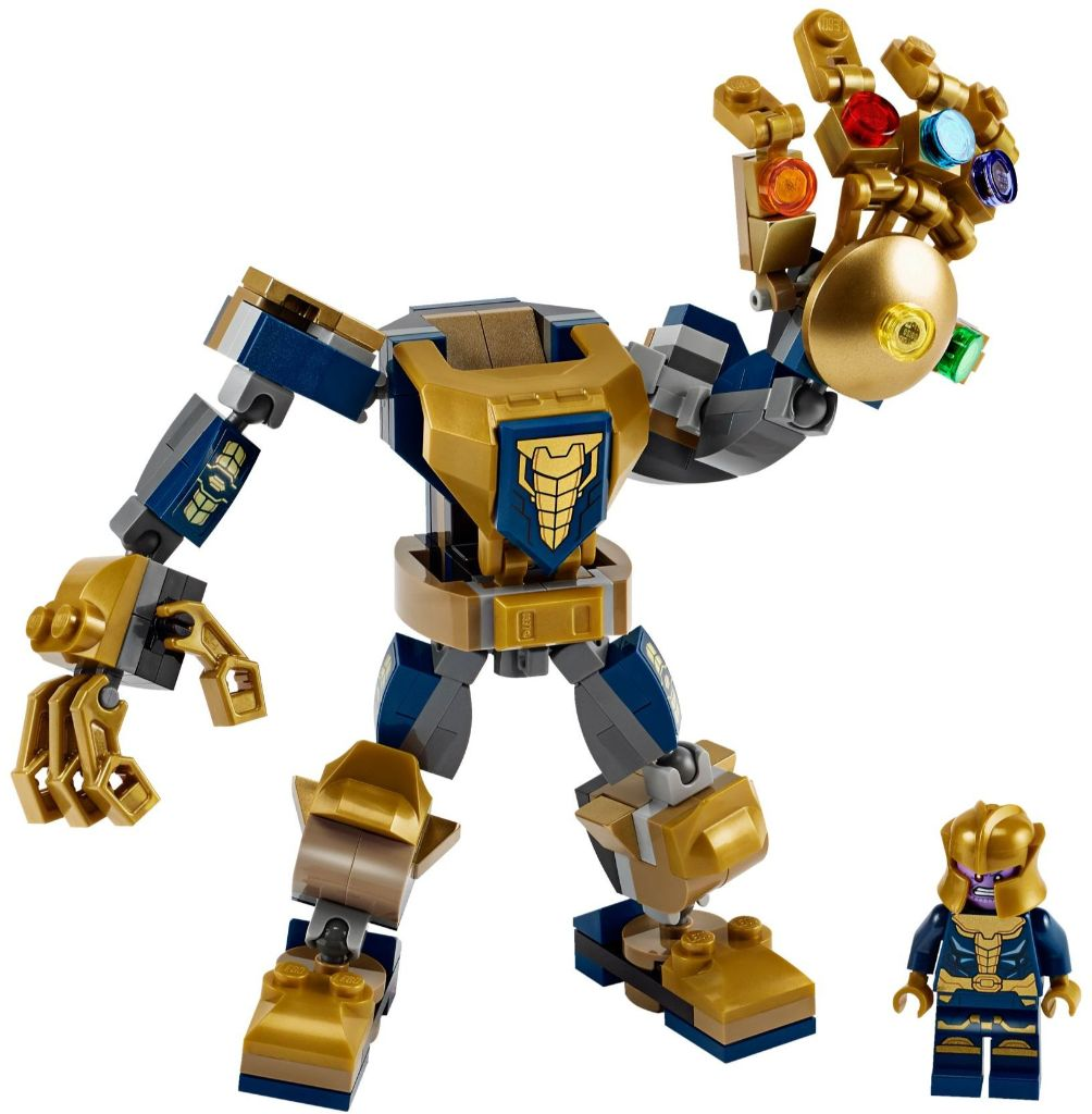 LEGO Marvel 76141 Thanos Mech 1