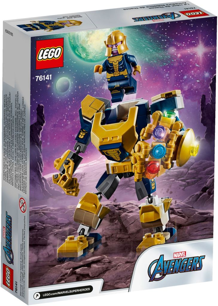 LEGO Marvel 76141 Thanos Mech 5