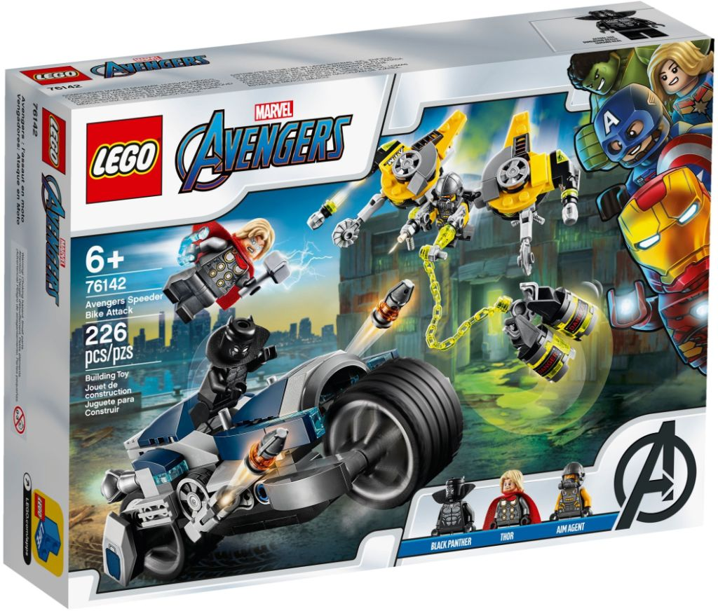 LEGO Marvel 76142 Avengers Speeder Bike Attack 2