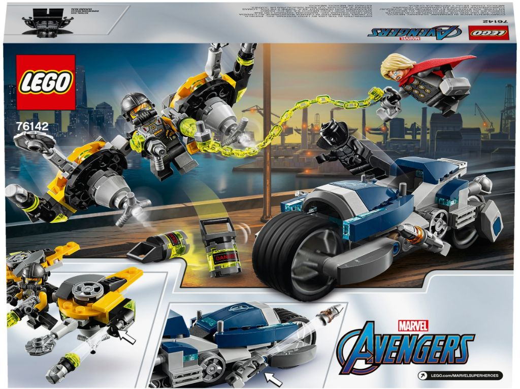 LEGO Marvel 76142 Avengers Speeder Bike Attack 5